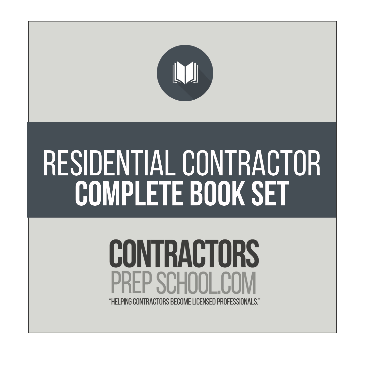 RESIDENTIAL CONTRACTOR COMPLETE BOOK SET. Your complete Florida State  Reference ...