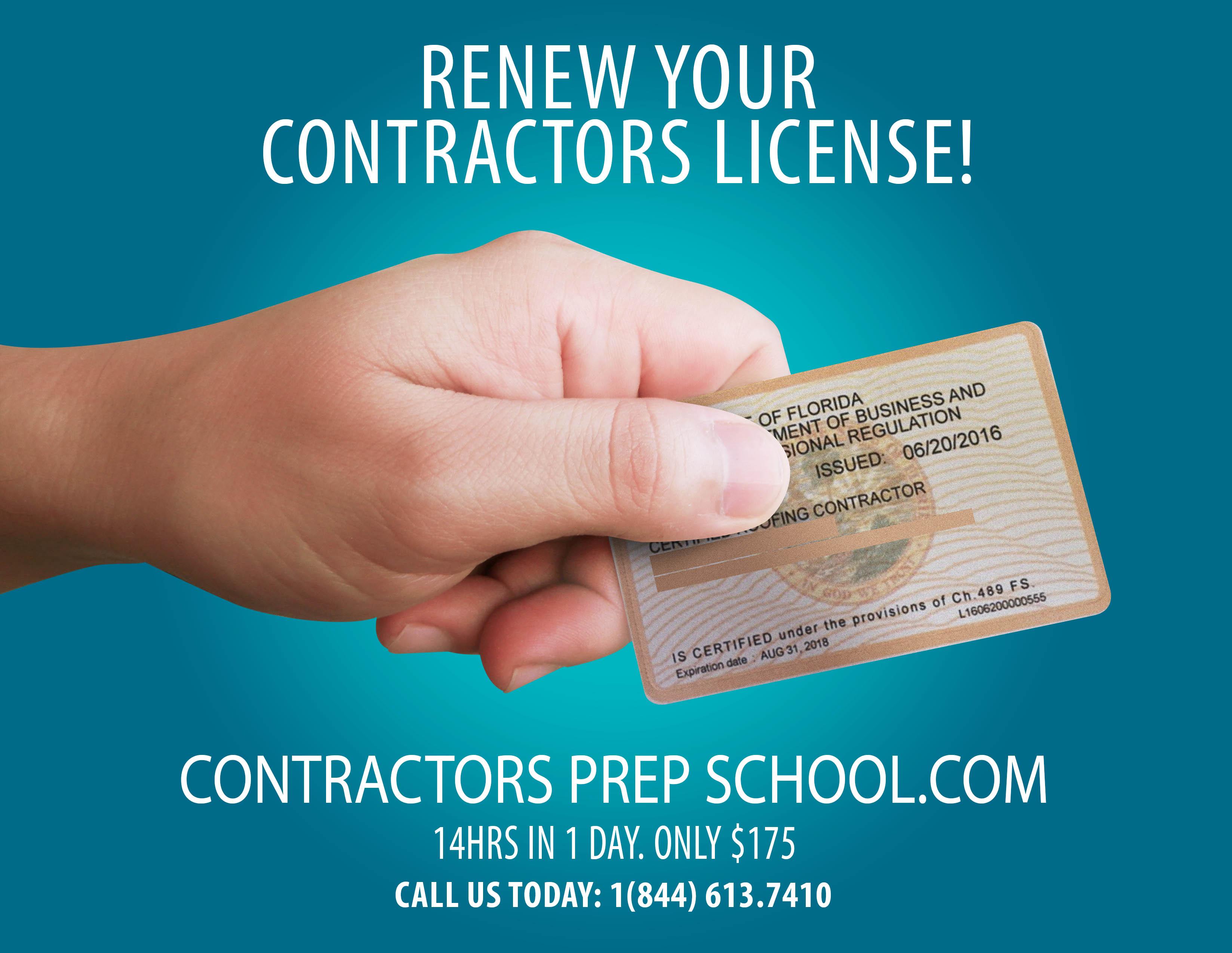 Contractors Prep School - Florida Contractor Licensing
